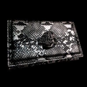 Brush bag silver snake