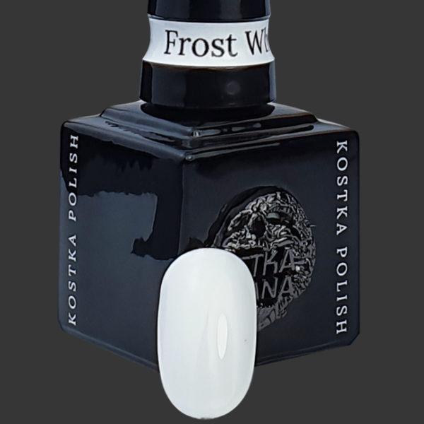 Kostka Polish Color Frost White